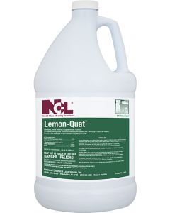NCL-0235 LEMON-QUAT DISINFECTANT CLEANER 1GAL 4/CS