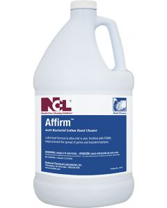 NCL-0415-29 AFFIRM ANTI-BACTERIAL LOTION HAND CLEANER 1GAL 4/CS