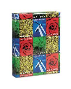 MOW12203 COLOR COPY 98 PAPER AND COVER STOCK, 98 BRIGHT, 28LB, 8.5 X 11, BRIGHT WHITE, 500/REAM