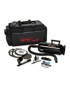 MEVDV3ESD1 METRO VAC ANTI-STATIC VACUUM/BLOWER, INCLUDES STORAGE CASE HEPA & DUST OFF TOOLS