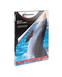 IVR99450 GLOSSY PHOTO PAPER, 7 MIL, 8.5 X 11, GLOSSY WHITE, 50/PACK