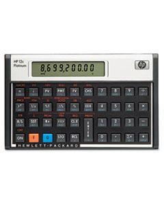 HEWF2231AA 12C PLATINUM FINANCIAL CALCULATOR, 10-DIGIT LCD