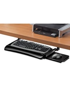 FEL9140303 OFFICE SUITES UNDERDESK KEYBOARD DRAWER, 20.13W X 7.75D, BLACK