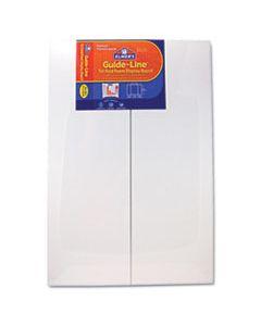 EPI905108 GUIDE-LINE FOAM DISPLAY BOARD, 48 X 36, WHITE, 6/CARTON