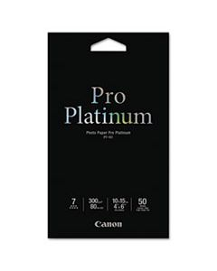 CNM2768B014 PHOTO PAPER PRO PLATINUM, 11.8 MIL, 4 X 6, HIGH-GLOSS WHITE, 50/PACK