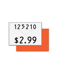 COS090949 TWO-LINE PRICEMARKER LABELS, 0.44 X 0.81, WHITE, 1,000/ROLL, 3 ROLLS/BOX