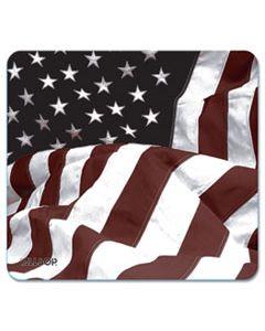 ASP29302 NATURESMART MOUSE PAD, AMERICAN FLAG DESIGN, 8 1/2 X 8 X 1/10
