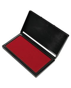 COS030257 MICROGEL STAMP PAD FOR 2000 PLUS, 3 1/8 X 6 1/6, RED