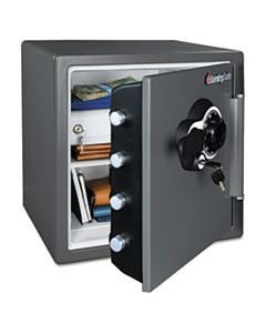 SENSFW123CSB FIRE-SAFE WITH COMBINATION ACCESS, 1.23 CU FT, 16.38W X 19.38D X 17.88H, GRAY