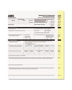 PMC59104 DIGITAL CARBONLESS PAPER, 2-PART, 8.5 X 11, WHITE/CANARY, 1, 250/CARTON