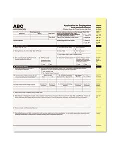 PMC59101 DIGITAL CARBONLESS PAPER, 2-PART, 8.5 X 11, WHITE/CANARY, 2, 500/CARTON