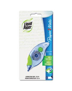 "PAP660415 DRYLINE GRIP CORRECTION TAPE, NON-REFILLABLE, 1/5"" X 335"""