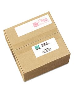 AVE05288 POSTAGE METER LABELS FOR PITNEY-BOWES POSTAGE MACHINES, 1.5 X 2.75, WHITE, 4/SHEET, 40 SHEETS/PACK
