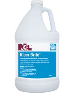 NCL-1304-29EA KLEER BRITE NON-AMMONIATED GLASS CLEANER 1GAL EA