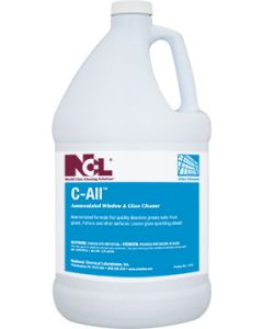 NCL-1315-29EA C-ALL AMMONIATED GLASS CLEANER 1GAL, EA