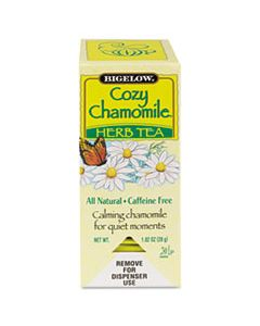 BTC00401 SINGLE FLAVOR TEA, COZY CHAMOMILE, 28 BAGS/BOX