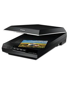 """EPSB11B198011 PERFECTION V600 PHOTO COLOR SCANNER, SCANS UP TO 8.5"""" X 11.7"""", 6400 DPI OPTICAL RESOLUTION"""
