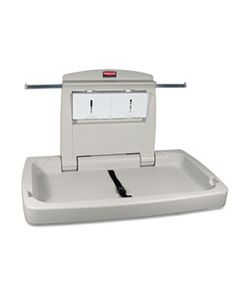 RCP781888 STURDY STATION 2 BABY CHANGING TABLE, 33.5 X 21.5, PLATINUM