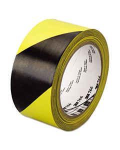 "MMM02120043181 766 HAZARD WARNING TAPE, BLACK/YELLOW, 2"" X 36YDS"