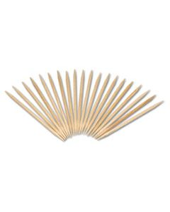 """RPPR820 ROUND WOOD TOOTHPICKS, 2 1/2"""", NATURAL, 24 INNER BOXES OF 800, 5 BOXES/CARTON, 96,000 TOOTHPICKS/CARTON"""