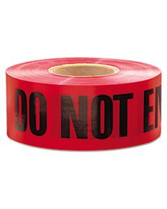 "EML11081 1,000 FT. X 3 IN. ""DANGER DO NOT ENTER"" BARRICADE TAPE (RED)"