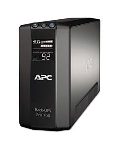 APWBR700G BR700G BACK-UPS PRO 700 BATTERY BACKUP SYSTEM, 6 OUTLETS, 700 VA, 355 J