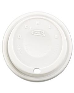 DCC16EL CAPPUCCINO DOME SIPPER LIDS, FITS 12-24OZ CUPS, WHITE, 1000/CARTON
