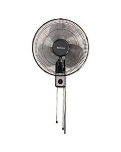 "HLSHMF1611AUM 16"" WALL MOUNT FAN, 3-SPEED, METAL, BLACK"