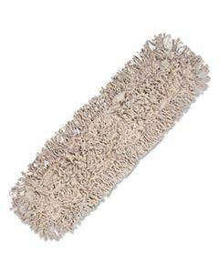 BWK1024 MOP HEAD, DUST, COTTON, 24 X 3, WHITE