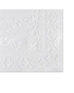 HFM601SE1014 CLASSIC EMBOSSED STRAIGHT EDGE PLACEMATS, 10 X 14, WHITE, 1,000/CARTON