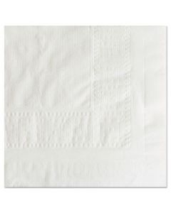 """HFM210130 CELLUTEX TABLECOVER, TISSUE/POLY LINED, 54 IN X 108"""", WHITE, 25/CARTON"""