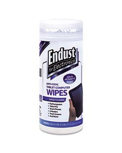 END12596 TABLET AND LAPTOP CLEANING WIPES, UNSCENTED, 70/TUB