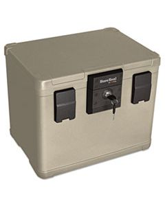 FIRSS106 FIRE AND WATERPROOF CHEST, 0.6 CU FT, 16W X 12.5D X 13H, TAUPE