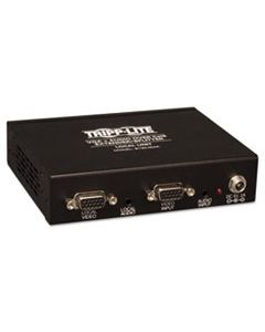 TRPB132004A2 VGA W/AUDIO OVER CAT5/CAT6 EXTENDER SPLITTER, 4 PORTS, UP TO 1000 FT., TAA