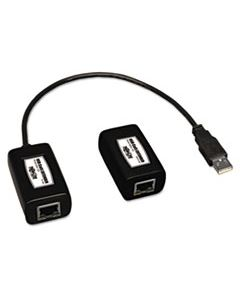 TRPB202150 USB OVER CAT5/CAT6 EXTENDER, TRANSMITTER AND RECEIVER, 1 PORT, UP TO 150 FT