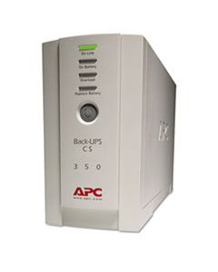APWBK350 BK350 BACK-UPS CS BATTERY BACKUP SYSTEM, 6 OUTLETS, 350 VA, 1020 J