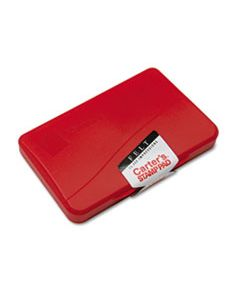 AVE21071 FELT STAMP PAD, 4 1/4 X 2 3/4, RED
