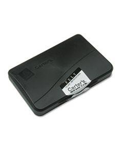 AVE21081 FELT STAMP PAD, 4 1/4 X 2 3/4, BLACK