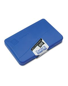 AVE21261 MICROPORE STAMP PAD, 4 1/4 X 2 3/4, BLUE