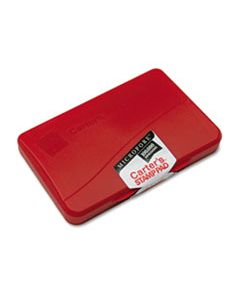 AVE21271 MICROPORE STAMP PAD, 4 1/4 X 2 3/4, RED