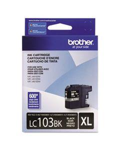 BRTLC103BK LC103BK INNOBELLA HIGH-YIELD INK, 600 PAGE-YIELD, BLACK