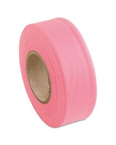 PECFLAGPINKGLO SURVEYORS TAPE