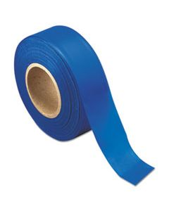 PECFLAGBLUE SURVEYORS TAPE, 12/CARTON
