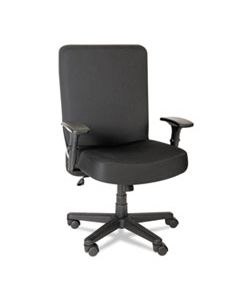 ALECP110 ALERA XL SERIES BIG AND TALL HIGH-BACK TASK CHAIR, SUPPORTS UP TO 500 LBS., BLACK SEAT/BLACK BACK, BLACK BASE
