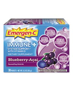 ALA100007 IMMUNE+ FORMULA, .3OZ, BLUEBERRY ACAI, 30/PACK