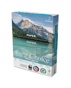 DMR2700 EARTHCHOICE OFFICE PAPER, 92 BRIGHT, 20LB, 8.5 X 11, WHITE, 500 SHEETS/REAM, 10 REAMS/CARTON