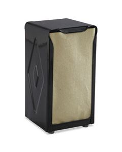 SJMH900BK TABLETOP NAPKIN DISPENSER, TALL FOLD, 3 3/4 X 4 X 7 1/2, CAPACITY: 150, BLACK