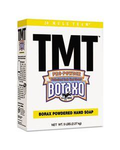 DIA02561EA TMT POWDERED HAND SOAP, UNSCENTED, 5 LB BOX