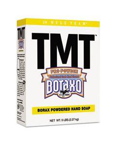 DIA02561CT TMT POWDERED HAND SOAP, UNSCENTED POWDER, 5LB BOX, 10/CARTON