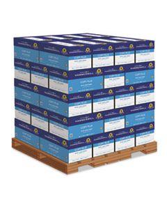 HAM105007PLT COPY PLUS PRINT PAPER, 92 BRIGHT, 20LB, 8.5 X 11, WHITE, 500 SHEETS/REAM, 10 REAMS/CARTON, 40 CARTONS/PALLET